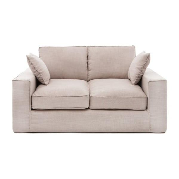 Beżowa sofa dwuosobowa Vivonita Jane