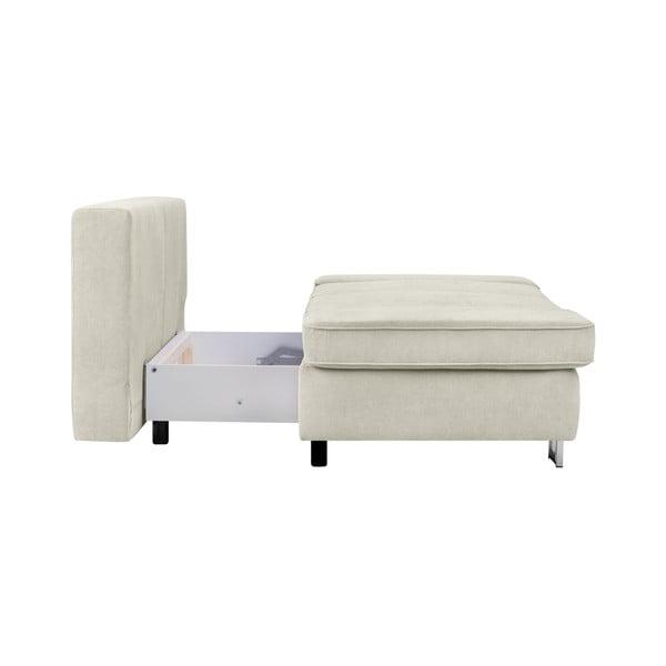 Béžová dvojmístná rozkládací pohovka Windsor & Co Sofas Iota