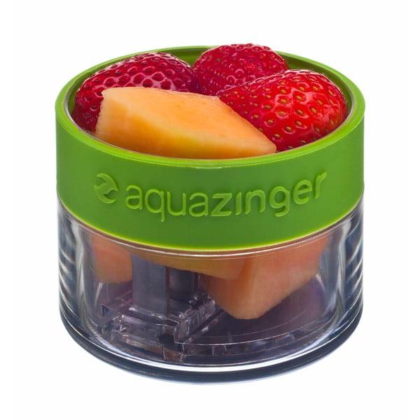 Aquazinger, lahev na vodu a ovoce, růžová