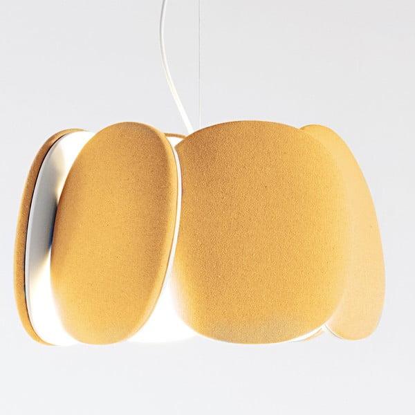 Stropní světlo Bloemi Goose Beak Orange, 40 cm