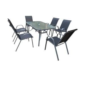 Set mobilier din metal pentru grădină Timpana Kingston