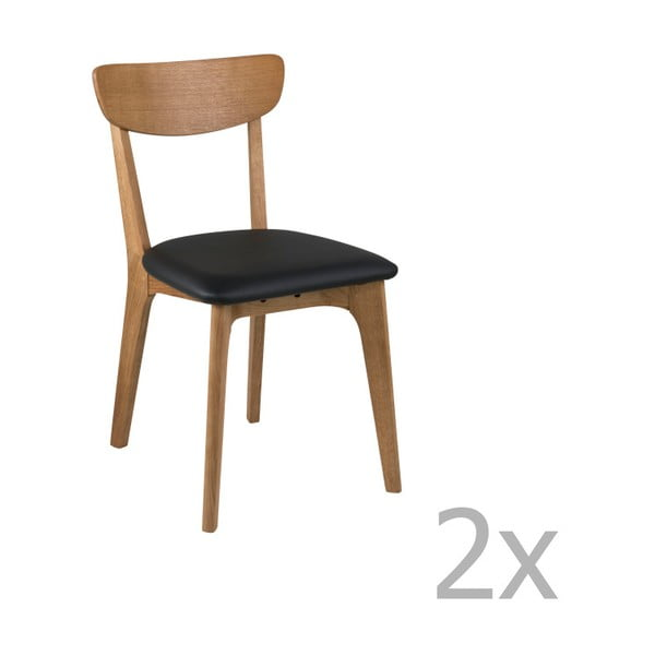 Set 2 scaune Actona Taxi Dining Set