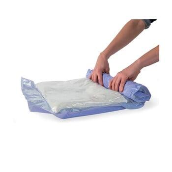 Set 12 saci cu vid pentru haine Compactor Roll Up, 65 x 45 cm imagine