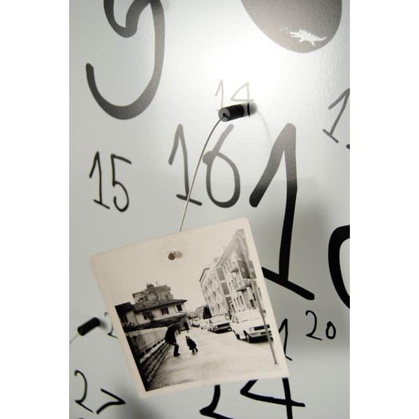 Magnetický kalendář Krok White, 30x100 cm