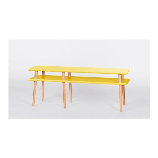 Konferenční stolek Mugo Yellow, 159 cm (šířka) a 45 cm (výška)