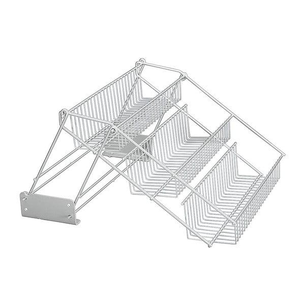 Wysuwany stojak na słoiczki z przyprawami Metaltex Up&Down