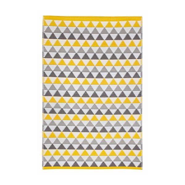 Koberec Mindi 120x180 cm, šedo-žlutý