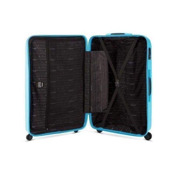 Kufr Travel PP 28', modrý