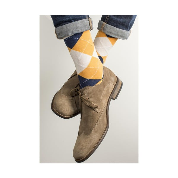 Sada 4 párů unisex ponožek Funky Steps Jovito, velikost39/45