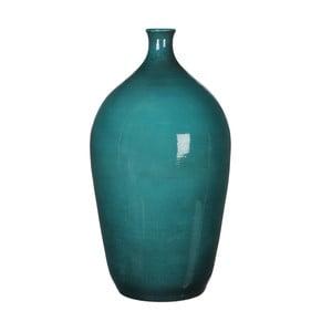 Zelená váza Mica Mary, 50x27cm