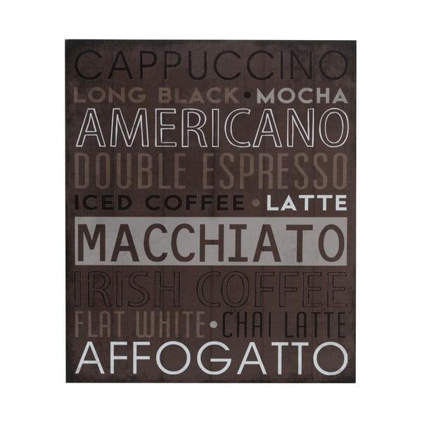 Dřevěný obraz Macchiato, 25x30 cm