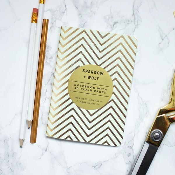 Zápisník Mint Gold