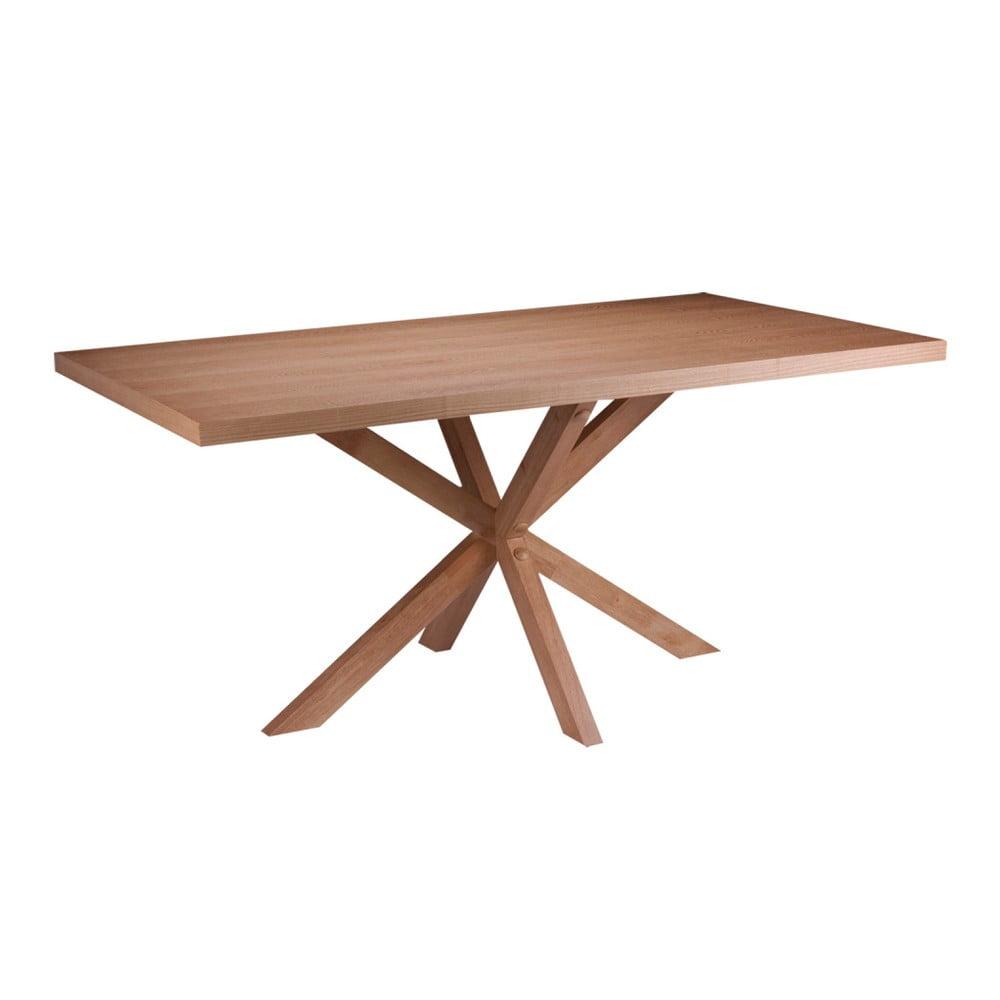 Jídelní stůl v dekoru dubového dřeva sømcasa Dina, 180x90cm