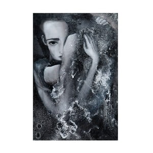 Autorský plakát od Lény Brauner 1:56:00, 42x60 cm