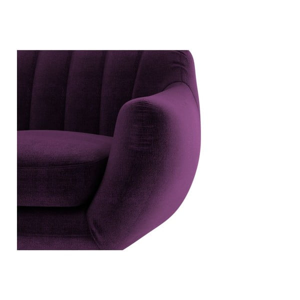 Sofa Azure pro dva, fialové