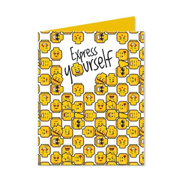 Papierowa teczka A4 LEGO® Iconic Express Yourself