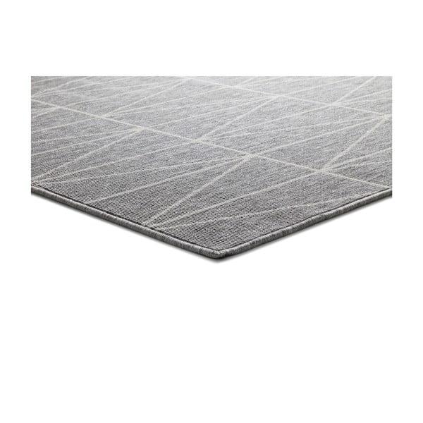 Koberec ve stříbrné barvě Universal Nicol vhodný i do exteriéru, 170 x 120 cm
