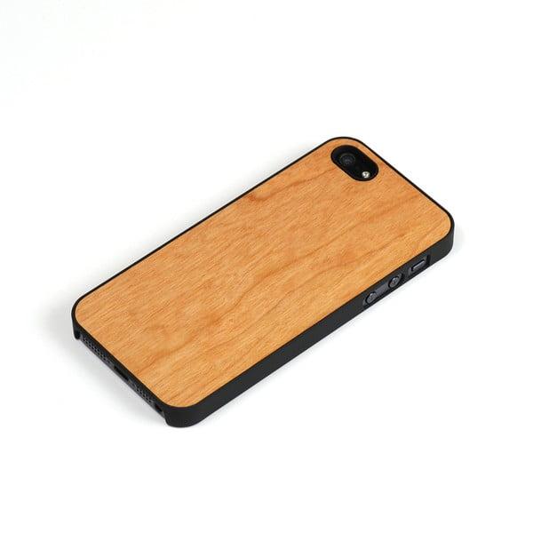 Dřevěný kryt na iPhone 5, třešeň