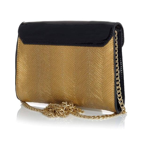 Kabelka Monnari Satchel Black/Gold