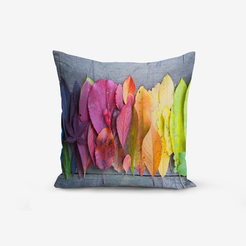 Povlak na polštář s příměsí bavlny Minimalist Cushion Covers Abstract, 45 x 45 cm