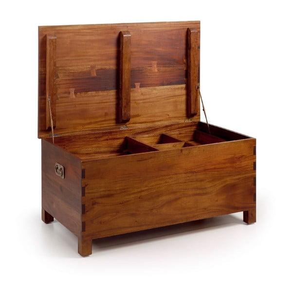Dřevěná truhla Trunk Large, 100x60x47 cm