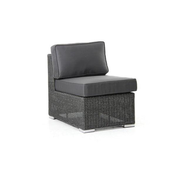 Střední díl tmavě šedé sedačky Brafab Brookline