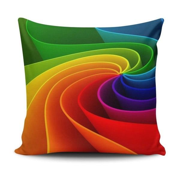 Pernă Rainbow Road, 45 x 45 cm
