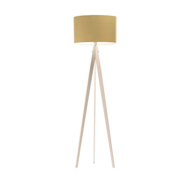 Stojací lampa Artist Mint/White, 125x42 cm