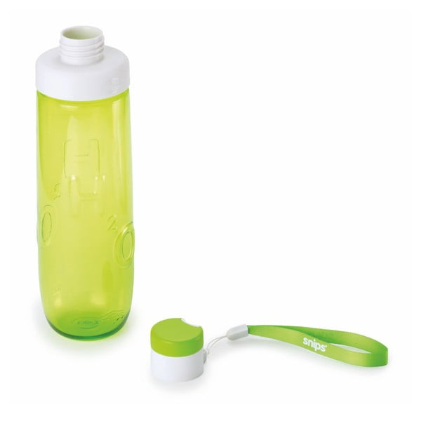 Zelená lahev na vodu Snips Water,750ml