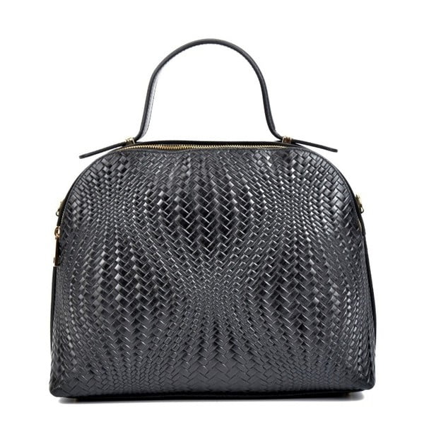 Černá kožená kabelka Isabella Rhea Josline