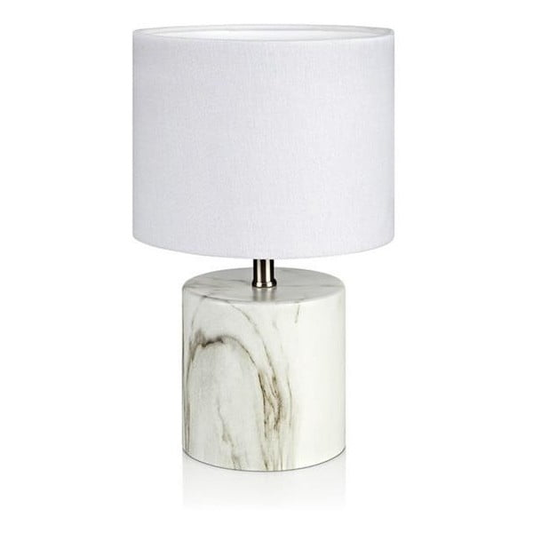 Bílá stolní lampa Markslöjd Ines