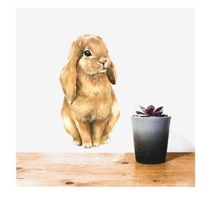 Nástěnná znovu snímatelná samolepka Chocovenyl Bunny Cute