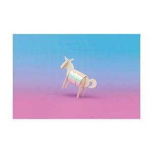 Lepící páska se stojánkem ve tvaru jednorožce Luckies of London Unicorn