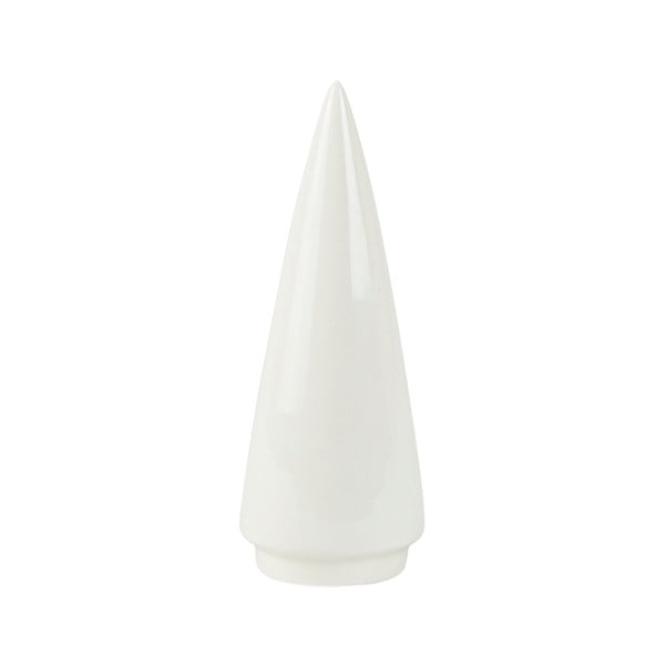 Decorațiune din ceramică Villa Collection Tree, 12,6 cm, alb