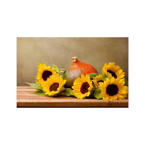 Obraz Zátiší se slunečnicemi, 45x70 cm