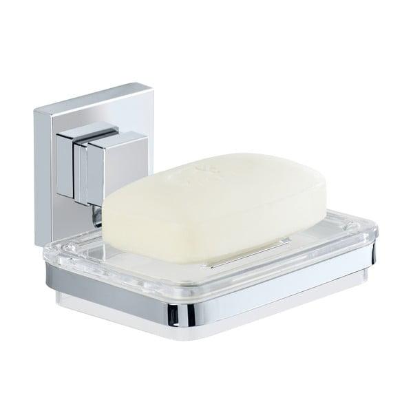 Samodržící miska na mýdlo Wenko Vacuum-Loc,12 x 12 cm