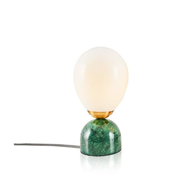 Repedo asztali lámpa zöld alappal