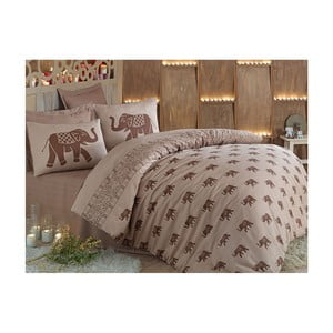 Lenjerie de pat cu cearșaf Fil, 200 x 220 cm