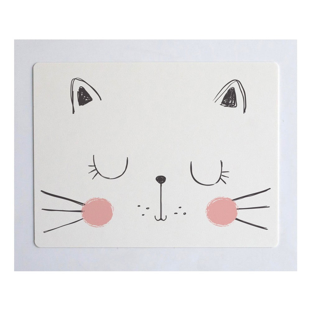 Podložka na stůl Little Nice Things Cat, 55 x 35 cm