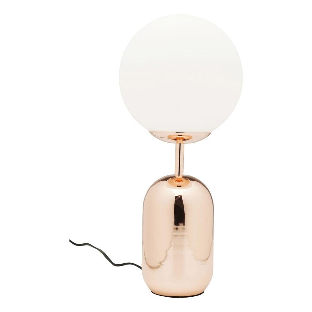 Stolní lampa v měděné barvě Kare Design Touch