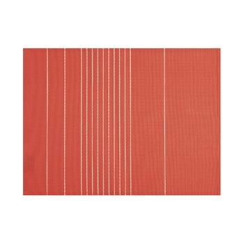 Șervet decorativ Tiseco Home Studio Stripe, 45 x 33 cm, roșu cărămiziu imagine
