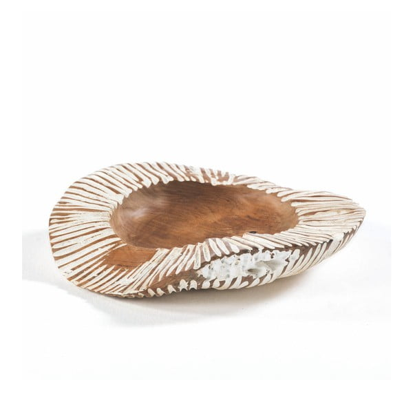 Miska ze dřeva a keramiky Thai Natura, Ø 40 cm