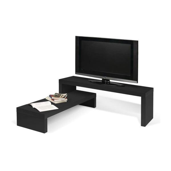 Variabilní TV stolek Cliff Black