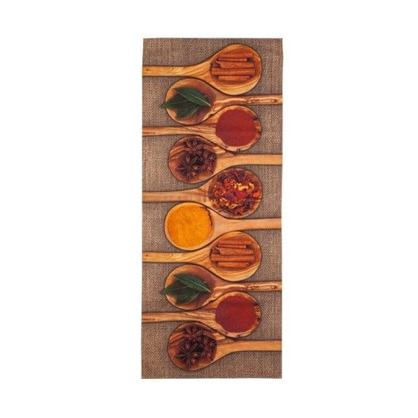 Vysoce odolný kuchyňský běhoun Floorita Spices,60 x 220cm
