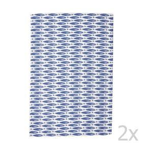 Sada 2 utěrek Couture Fishie, 73x47,5 cm