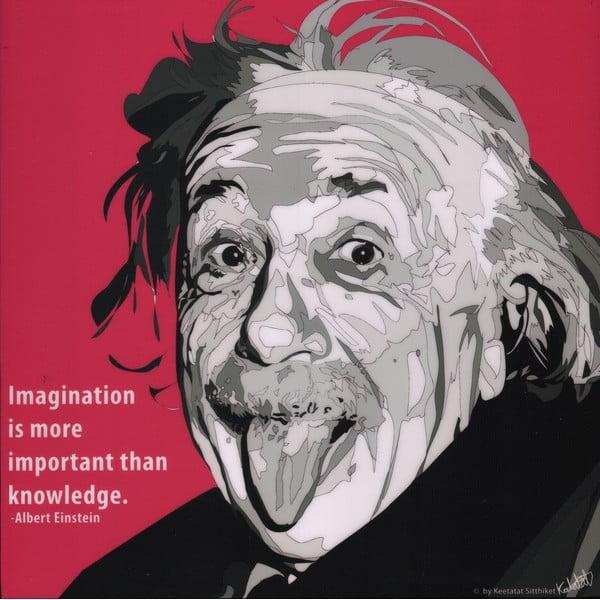 Obraz Albert Einstein - Imagination