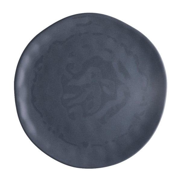 Gres világosszürke porcelántányér, ⌀ 26 cm - Brandani