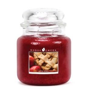 Vonná svíčka ve skleněné dóze Goose Creek Jablečné koření, 0,45 kg