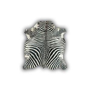 Kožená předložka Normand Cow, 170x190 cm, motiv zebry