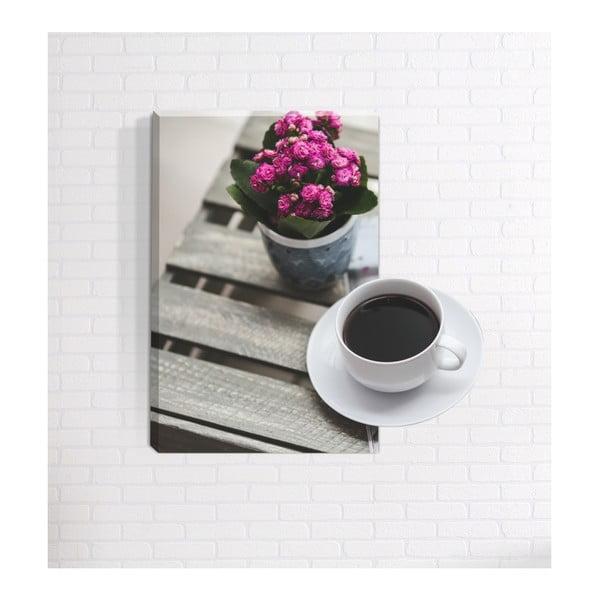 Coffee 3D fali kép, 40 x 60 cm - Mosticx